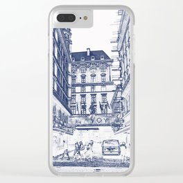 The Savoy Hotel, London Clear iPhone Case