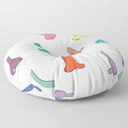 Smells like noses Floor Pillow