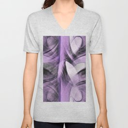 Heart Art Unisex V-Neck