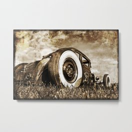 The Pixeleye - Special Edition Hot Rod Series II Metal Print