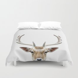 Deer Head Duvet Cover