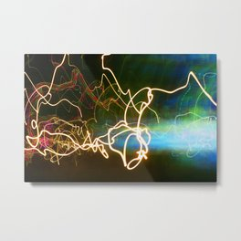 Light Painting 77 Metal Print