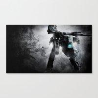metal gear Canvas Prints featuring Metal Gear by Hisham Al Riyami