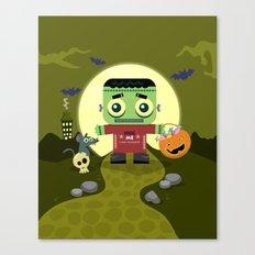 Frankie goes to Halloween Canvas Print