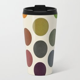 'Parsons' Spectrum Color Chart' 1912, Remake 2 (enhanced) Travel Mug