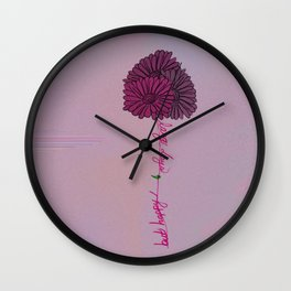 Long Days, But Happy Wall Clock