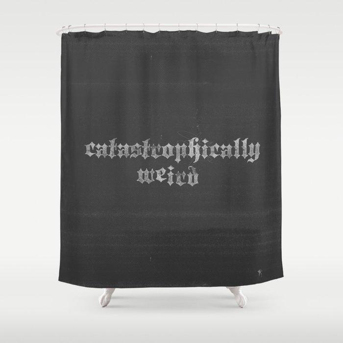 Catastrophically Weird Shower Curtain