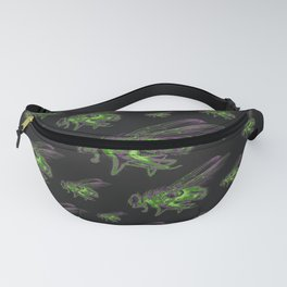 Housefly GHOST GREEN Fanny Pack