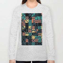 RAND PATTERNS #36: Procedural Art Long Sleeve T-shirt
