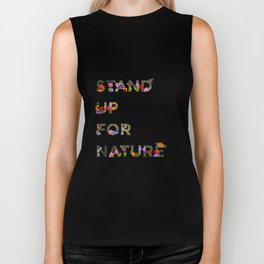 Stand Up For Nature Biker Tank