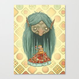 Hansel & Gretel Canvas Print