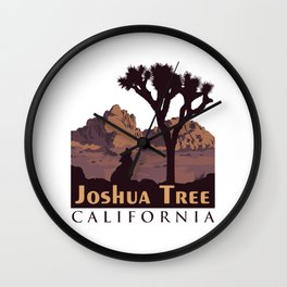 Joshua Tree National Park. Wall Clock