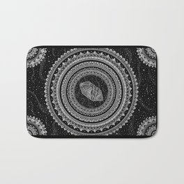 Gravitation Mandala Bath Mat