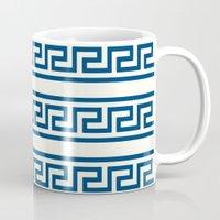 greek Mugs featuring Greek II by Mr & Mrs Quirynen