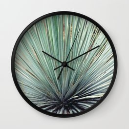 Agave Plant Wall Clock
