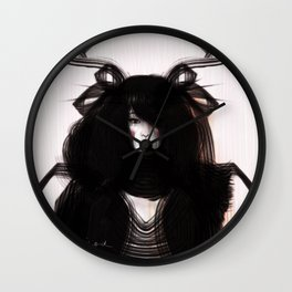 Princess Kim Wall Clock