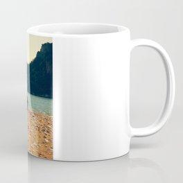 Rocks On The Wood Coffee Mug
