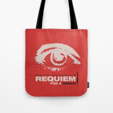 Requiem For  A Dream Tote Bag