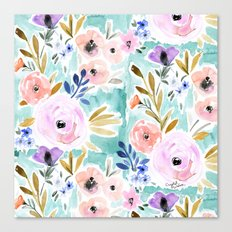 Willow Floral Canvas Print