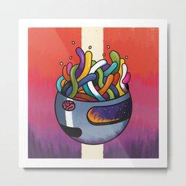 Headspace Metal Print