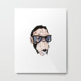 monkey Spud Metal Print