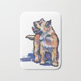 Fun Cairn Terrier Dog bright colorful Pop Art by LEA Bath Mat