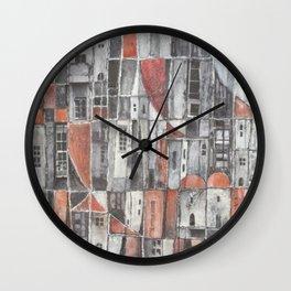 Signos urbanos N° 6 Wall Clock