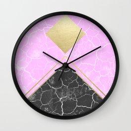 Pinkramidion Wall Clock