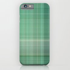 Green Checked Slim Case iPhone 6s