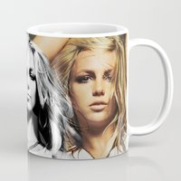 britney Mugs featuring Britney Zone by Isaiah Thomas