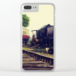 Railways Clear iPhone Case