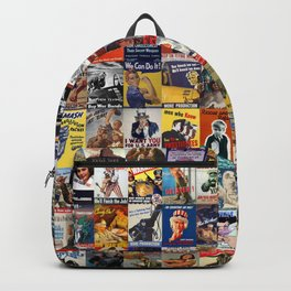 WWII Posters Backpack