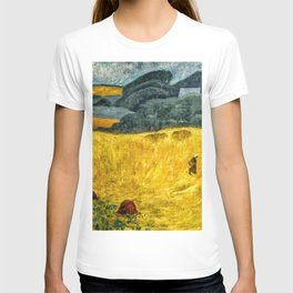 Fields of Gold, Tuscany, Italy landscape by Paul Serusier T-shirt