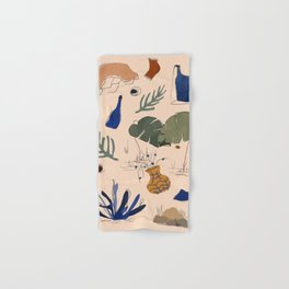 Fun objects Hand & Bath Towel