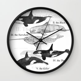 II. The Octavo Whale Wall Clock
