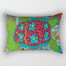 Myrtle the Turtle Rectangular Pillow