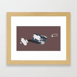 flyer 1 Framed Art Print