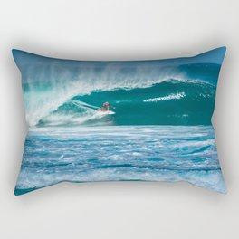 Surfing Hawaii Rectangular Pillow