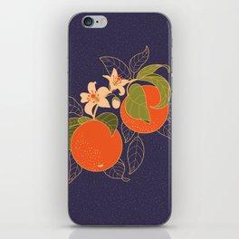 Orange Branch iPhone Skin