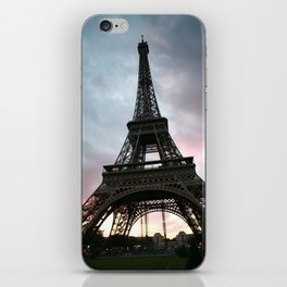 Cotton Candy Sky Eiffel iPhone Skin