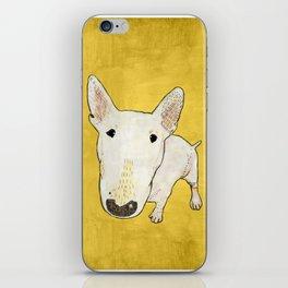 English Bull Terrier pop art iPhone Skin
