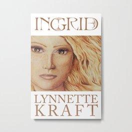 Ingrid Poster Metal Print