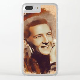 Jerry Lee Lewis, Music Legend Clear iPhone Case