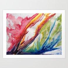 Fluid #3 Art Print