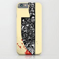 foul deeds iPhone 6s Slim Case