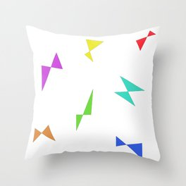 Simple butterfly Throw Pillow