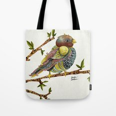 Positivity Bird Tote Bag