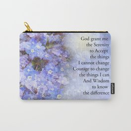 Serenity Prayer Veronica Carry-All Pouch
