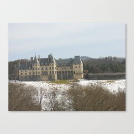 Snow on the Biltmore 2 Canvas Print