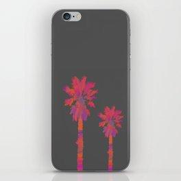 Vibrant Palmtrees No.2 iPhone Skin